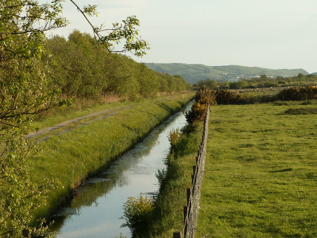 Drainage ditch in Cors Fochno