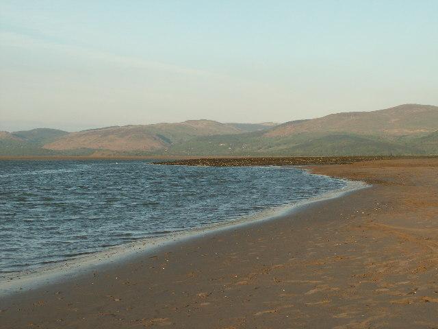 Dyfi Estuary at low tide