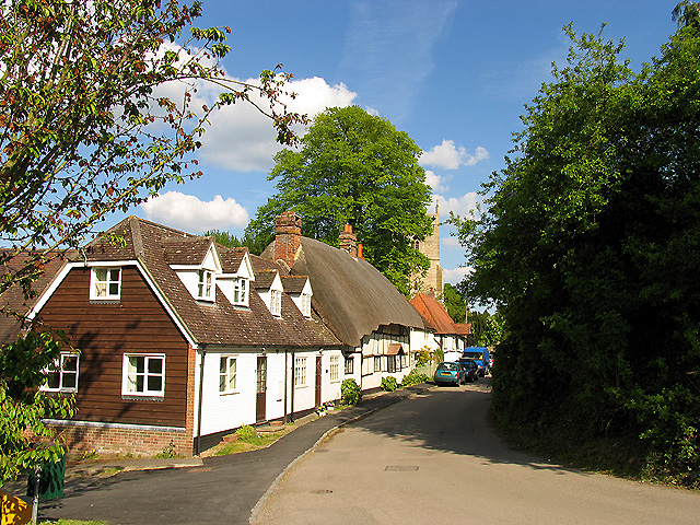 Typical Residential Street in East Hendred