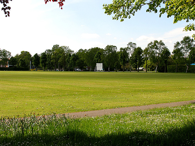 Cricket Pitch at the Harwell International Business Centre