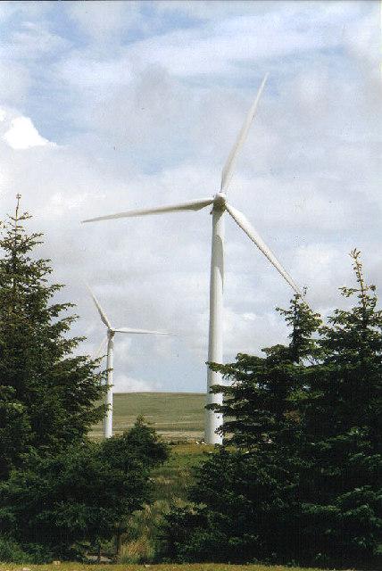 Dun Law windfarm