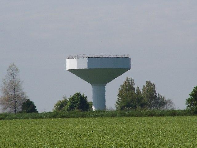 Burton Stather water tower