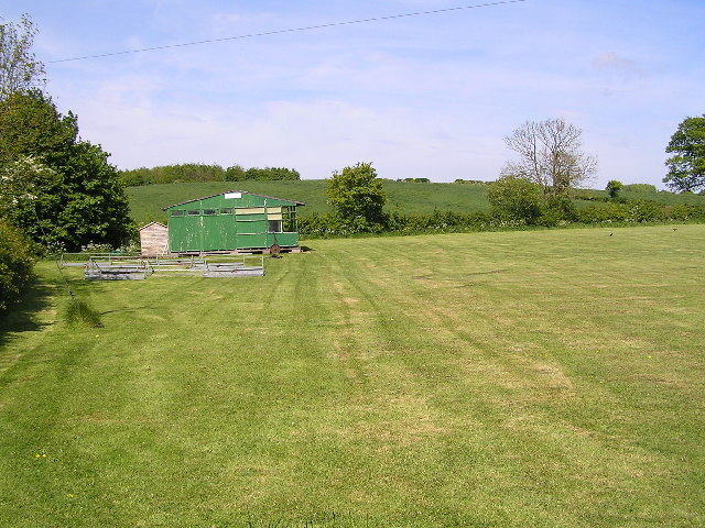 Flyford Flavell Cricket Club ground.