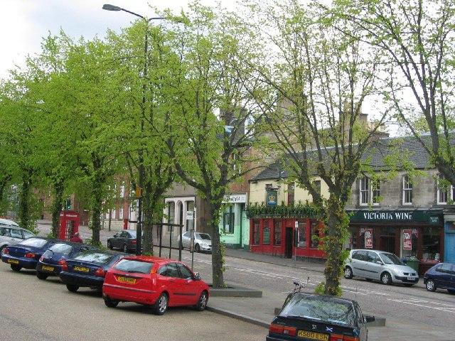 Penicuik town centre.