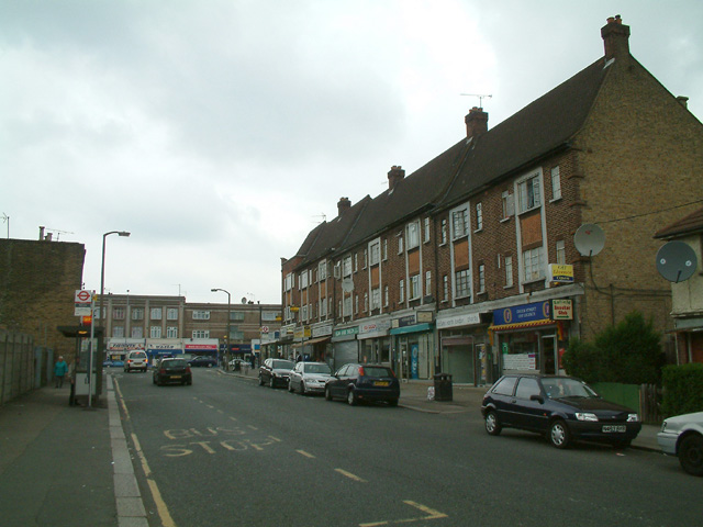 Local shops, Enfield Highway
