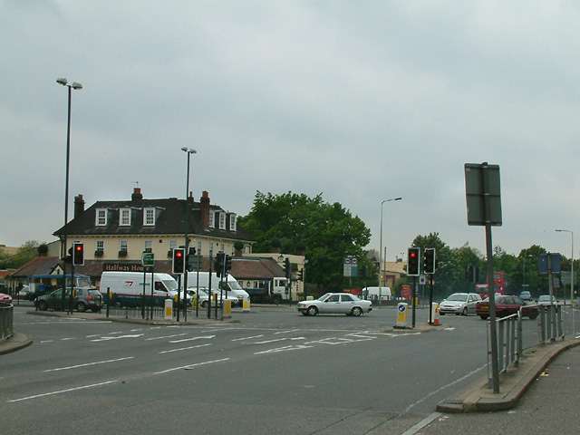 A10 junction and Halfway House