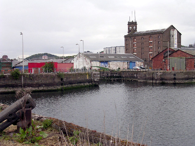 Camperdown Dock, Dundee harbour