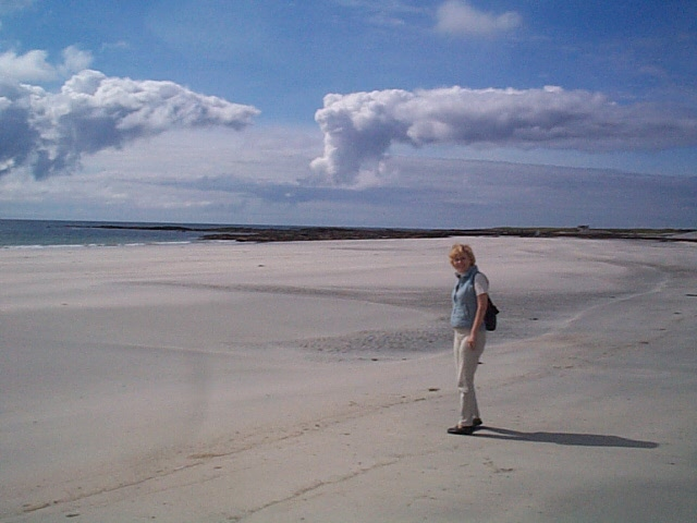 Beach near Benbecula Western Isles