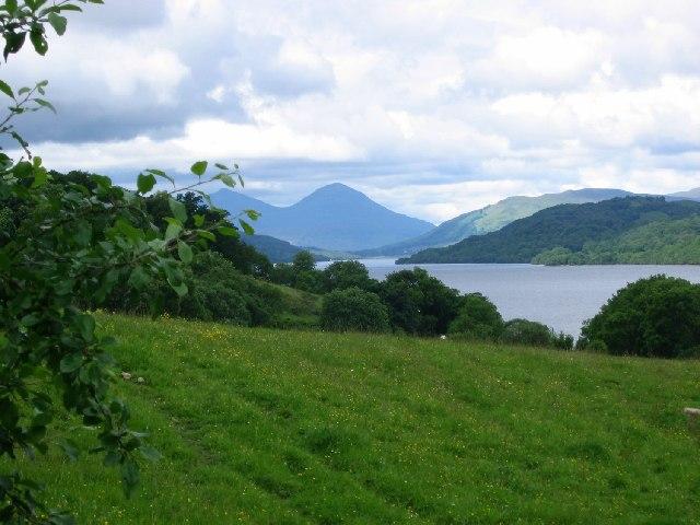 Loch Tay from Ardtalnaig.