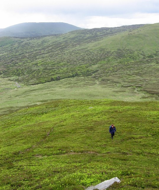 South ridge of Shee of Ardtalnaig