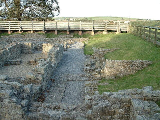 Binchester Roman Fort - Vinovia