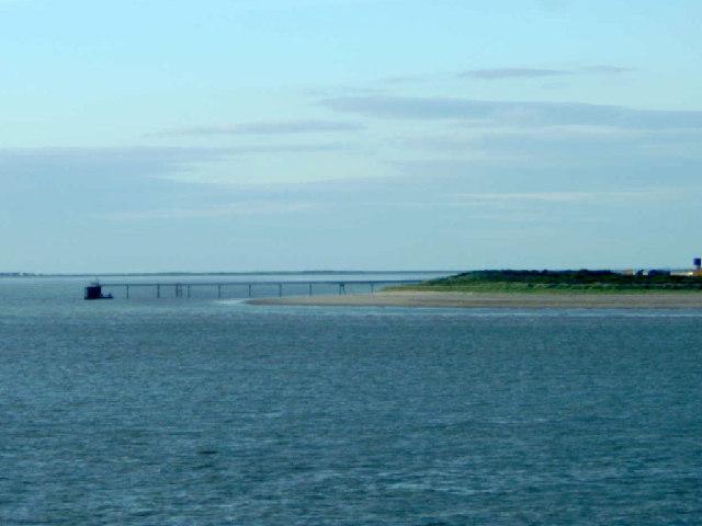 Spurn Point jetty