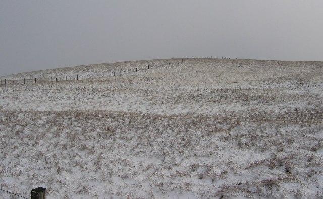 Summit of Meikledod Hill