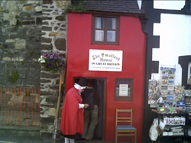Smallest House in Great Britain, Conwy Quay, Conwy