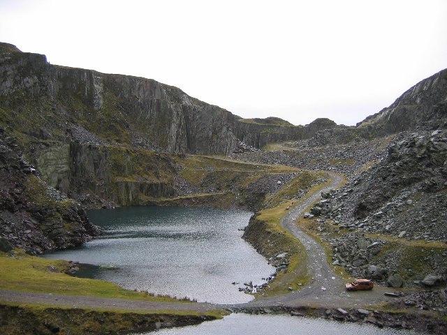 Slate quarry, Moel Tryfan