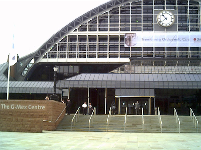Manchester G Mex Centre