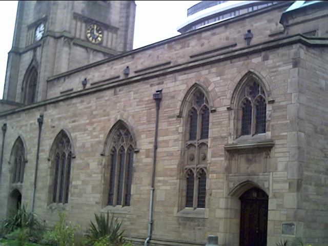 St Nicholas Church, South Side, Liverpool