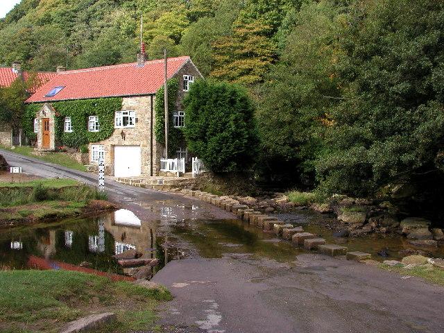 The stream at Darnholm