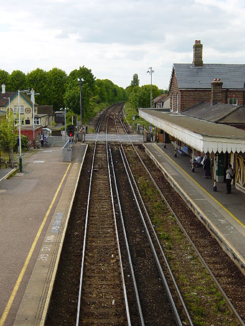 Angmering Station looking west.