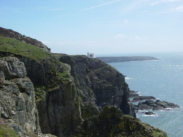 Ellin's Tower and Pen-las Rock