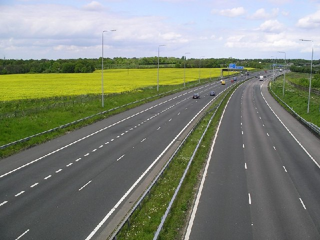 M2 Motorway in Kent
