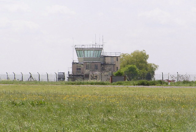 Disused Control Tower, Pershore airfield