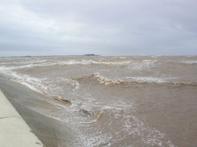 Tide at Southport