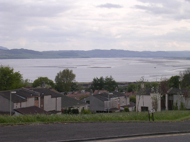 Tay estuary from near Ninewells hospital