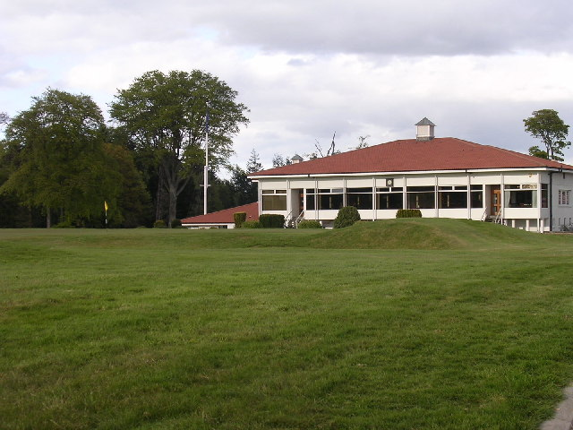 Clubhouse of Downfield Golf Club
