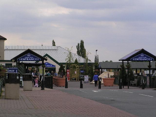 Webbs garden Centre.