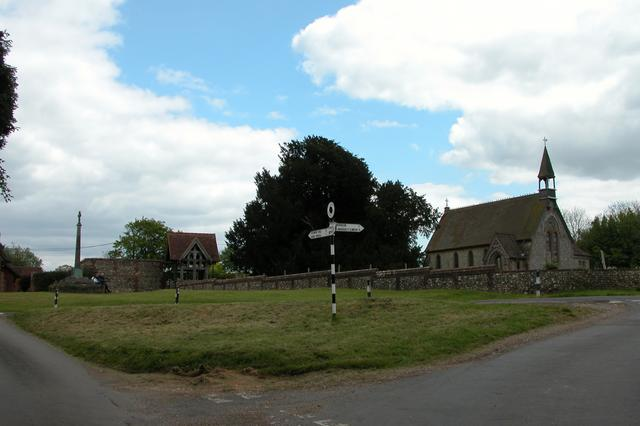 Froxfield Green church