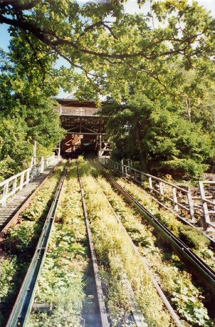 Water Balanced Cliff Railway