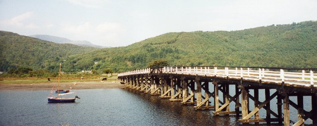 The Toll Bridge at Penmaenpool