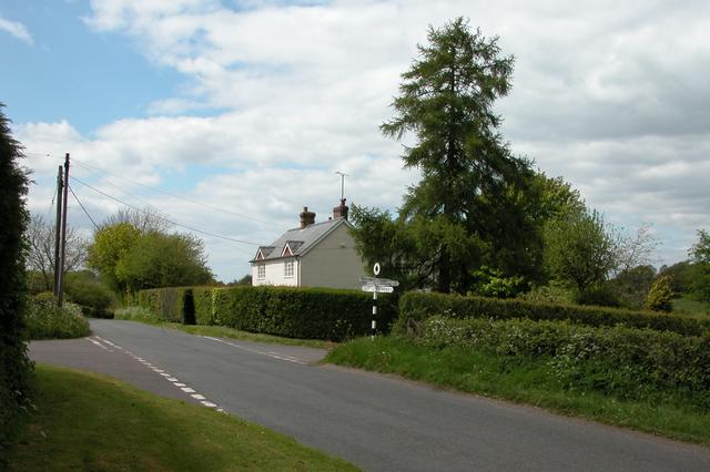 Crossroads at Week Green farm