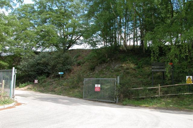 Quarry Entrance on West Heath Common