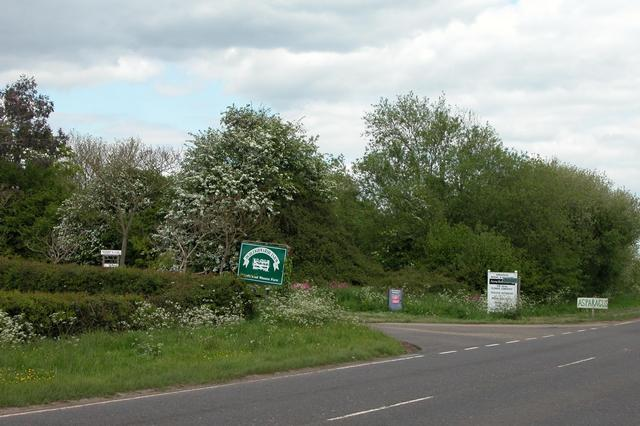 Entrance to Durleighmarsh Farm
