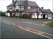 SJ4563 : The Black Dog Pub near Chester off the A41 by chestertouristcom