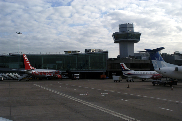 Manchester Airport from airside