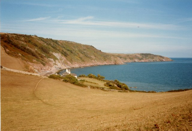 Man Sands and Southdown Cliff