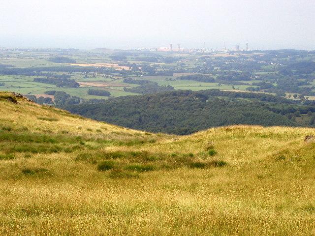 Looking westwards towards Sellafield from Irton Fell