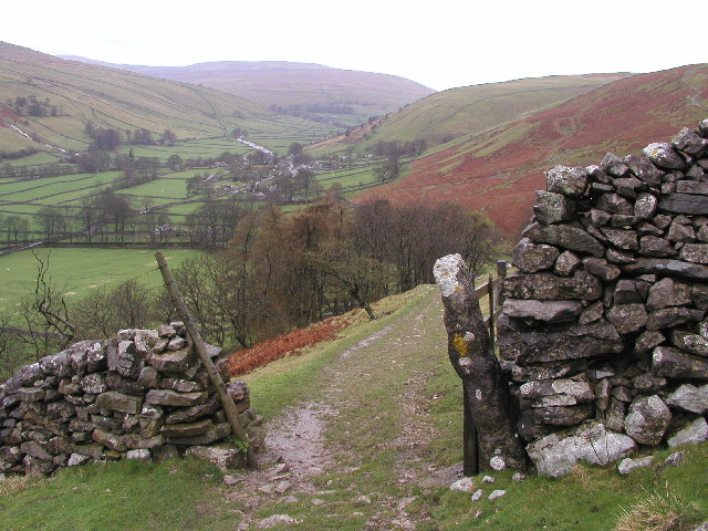 View up Littondale