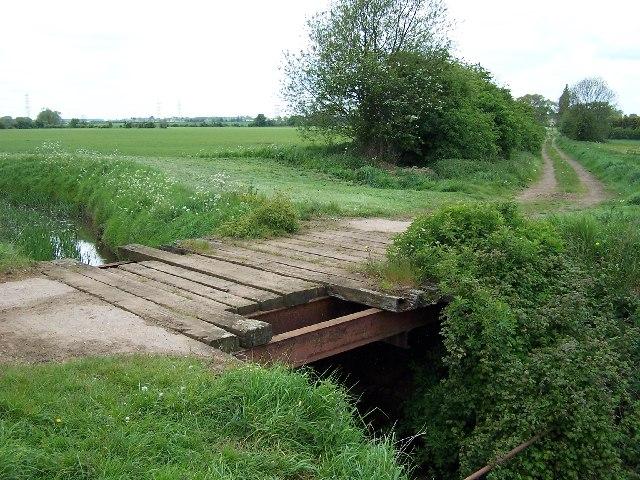 Bridge over Halton Drain