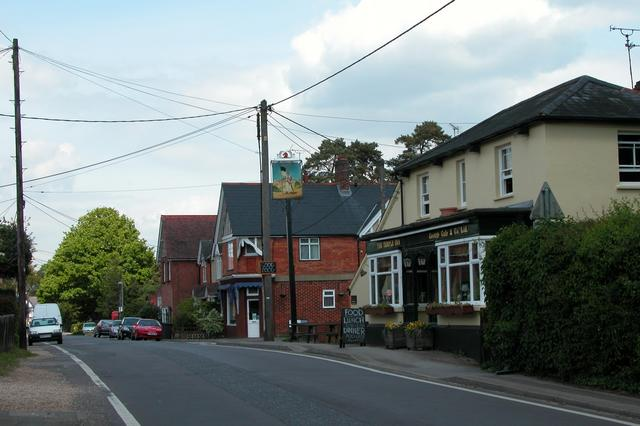 The Temple pub, Liss Forest