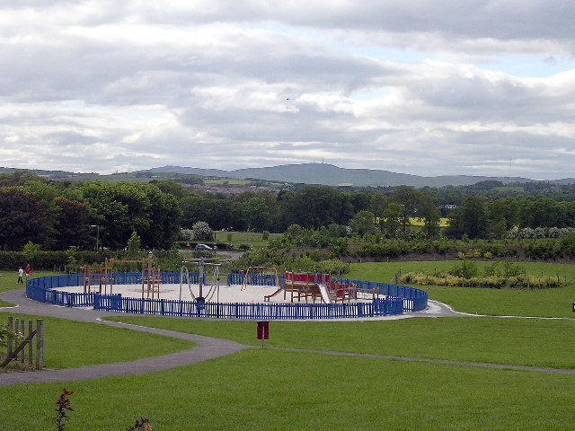 Children's play park, north Broughty Ferry