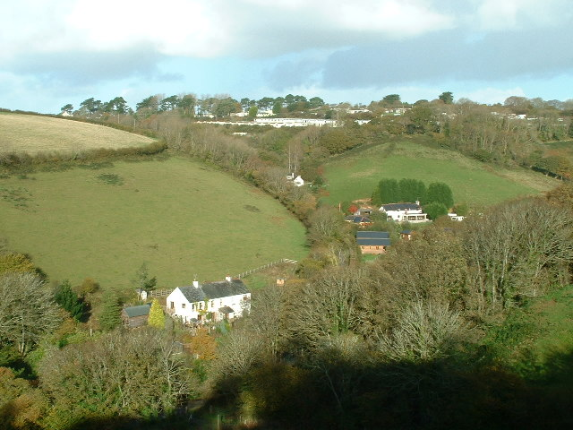 Churchabridge, Millendreath Valley, Looking North