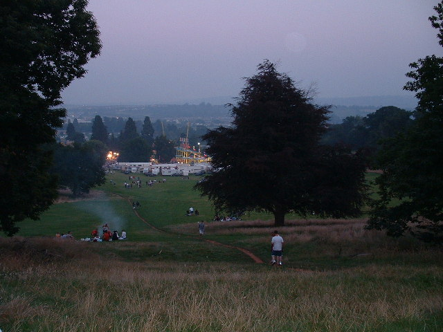 Evening at Ashton Court