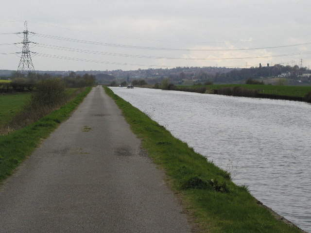 The Aire and Calder Navigation near Altofts