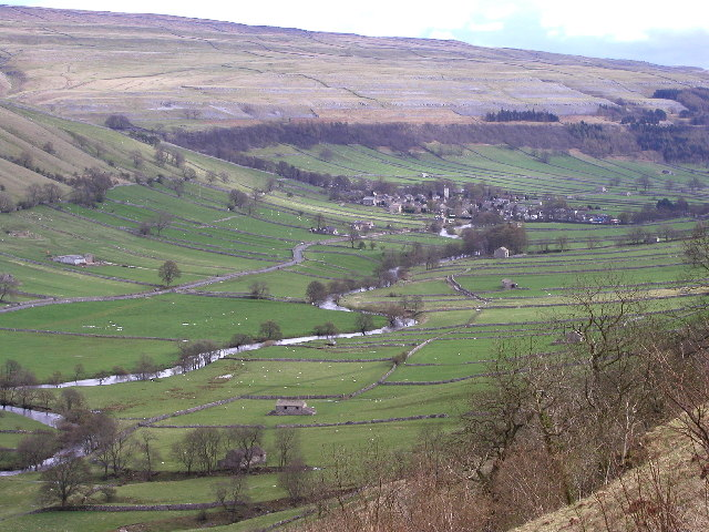 Looking towards Kettlewell