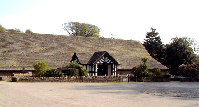 Rivington hall barn ruth harris geograph britain and for The rivington