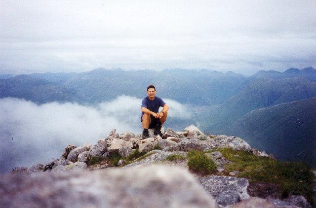 Summit of Ben Starav